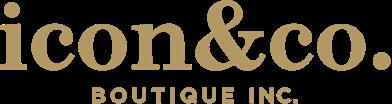 iconco boutique logo Gold@2x
